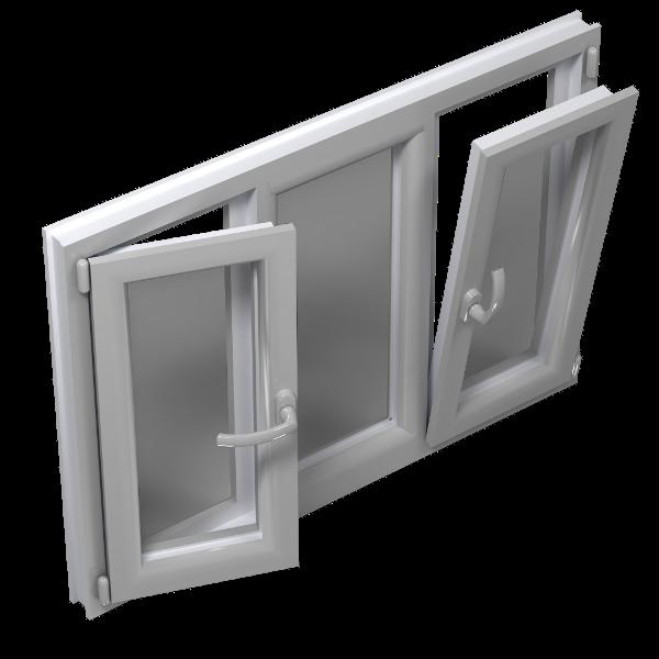 поворотно откидное окно